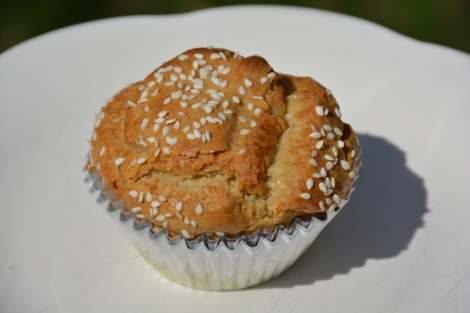 "Tahini Muffin Starch Free ""Straight Up Diet"""
