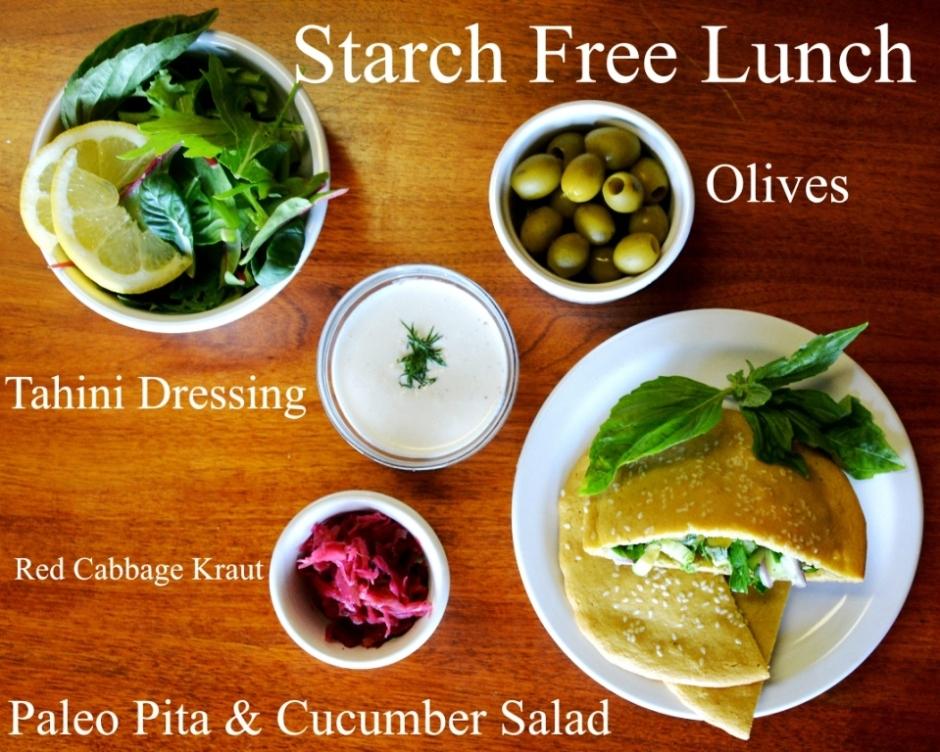Starch Free Lunch #lowstarchpaleo #greek #paleo