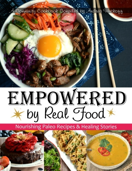empowered by real food cookbook web